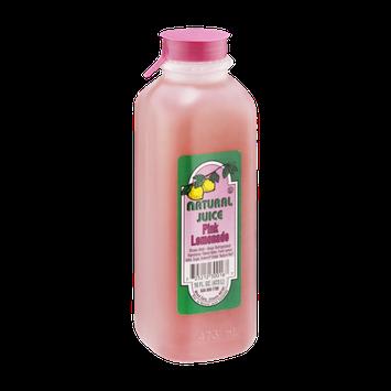 Natural Juice Lemonade Pink