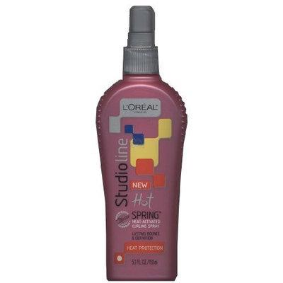 L'Oréal Paris Studioline Hot Spring Heat-Activated Curling Spray, Heat Protection