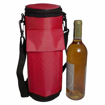 Maranda Enterprises FlexiFreeze Wine Bottle Beverage Cooler - Red