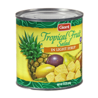 Giant Tropical Fruit Salad in Light Syrup