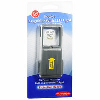 Walgreens Pocket Magnifier with LED Light
