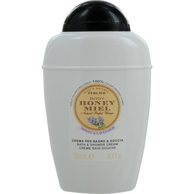 Perlier Body Honey Miel Honey Lavander 250ml/8.4oz Bath Shower Cream