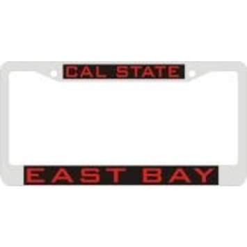 Campus Locker Room > Chrome Frame CALIFORNIA STATE UNIVERSITY EAST BAY Metal Chrome Frame