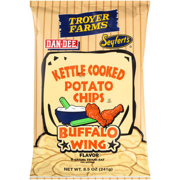 Troyer Farms Buffalo Wing Kettle Cooked Potato Chips, 8.5 oz