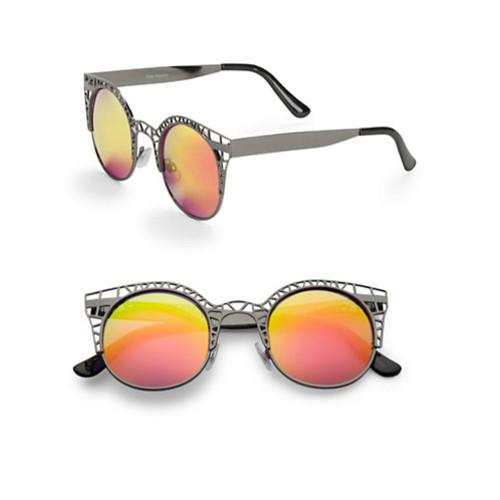 QUAY AUSTRALIA63mm Fleur Cat Eye Sunglasses