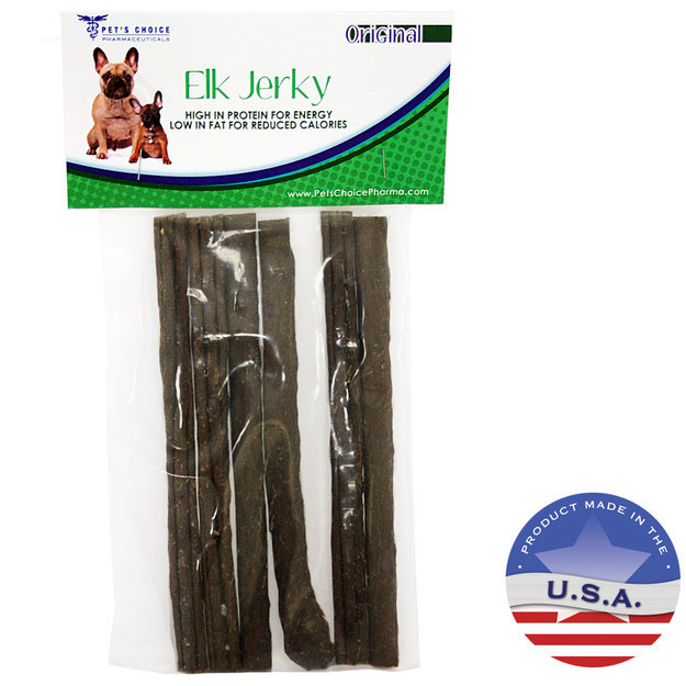 David Shaw Silverware Na Ltd Elk Jerky Treats, 6 Pack