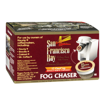 San Francisco Bay Fog Chaser Coffee Single Serve - 12 CT