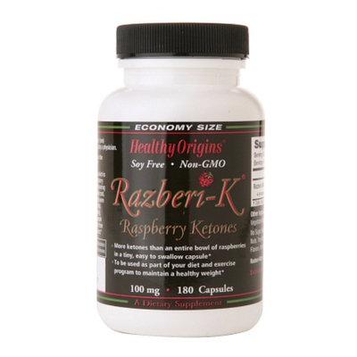 Healthy Origins Raspberi-K Raspberry Ketones 100 mg
