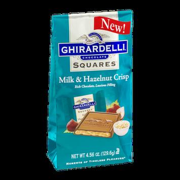 Ghirardelli Chocolate Squares Milk & Hazelnut Crisp