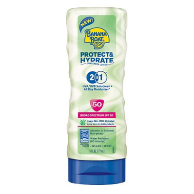 Banana Boat Protect And Hydrate Sunscreen Lotion With SPF 50