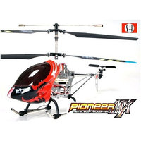 Pioneer MX 8827 3 Channel Pro Gyroscope Infrared Radio Remote Control Metal Body Helicopter (Large) Black