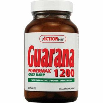 Action Labs Guarana PowerMax 1200 60 Tablets