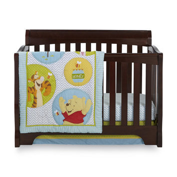 Disney Baby Winnie the Pooh 4 Piece Crib Bedding Set - CROWN CRAFTS INFANT PRODUCTS, INC.