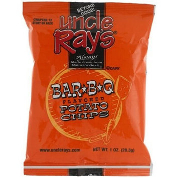 Uncle Rays Bbq Potato Chips, 2-Ounces (Pack of 24)