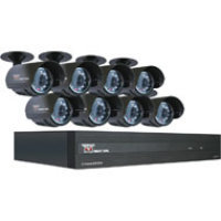 Night Owl Security Products 8-Channel STA 500GB DVR with 8 Night Vision Cameras and Smartphone Viewing