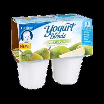 Gerber® Yogurt Blends Simply Pear