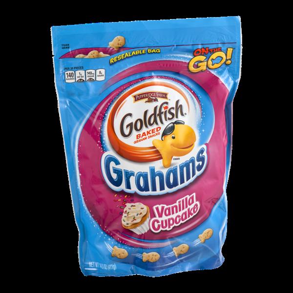 Goldfish Grahams On the Go! Vanilla Cupcake