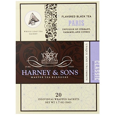 Harney & Sons Harney and Sons Paris Tea, 20 Count (Pack of 6)