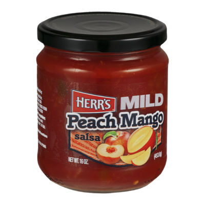Herr's® Salsa Peach Mango Mild