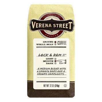 Verena Street 12 oz. Lock & Dam 11 Medium Ground Coffee Case Of 6
