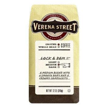 Verena Street 12 oz. Lock & Dam 11 Medium Ground Coffee Case Of 6