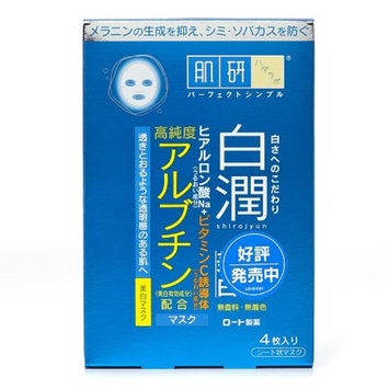 Hada Labo Shirojyun Mask, 4 ea