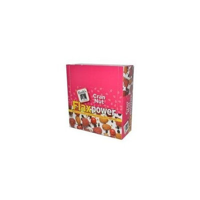 Ruths Hemp Food Ruth's Hemp Foods, Flax Power Bar, Cran Nut, 12 Pack, 1.4 oz (40 g) Each
