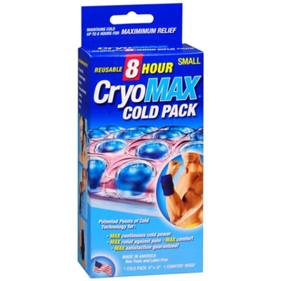 Cryo-Max Cold Pack with Flexible Straps