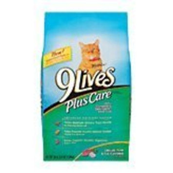 9Lives Plus Care Grilled Tuna and Egg Flavor Dry Cat Food