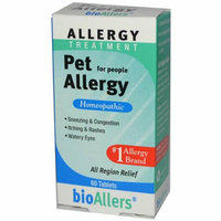 Bio-Allers Pet Allergy Treatment For People 60 Tablets