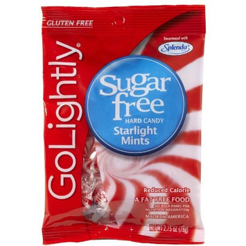 GoLightly Sugar Free Starlight Mints, Bags, 2.75 oz