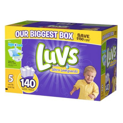 Luvs Diapers with Ultra Leakguards