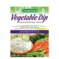 Concord Foods Homestyle Vegetable Dip Mix (1.5 oz.)