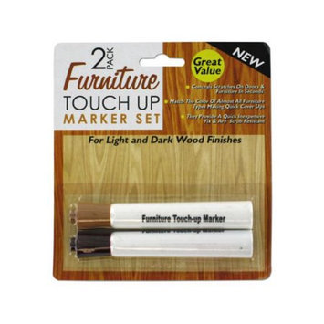 Bulk Buys Furniture touch-up marker set - Case of 12