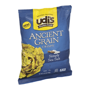 Udi's Ancient Grain Crisps Simply Sea Salt