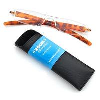 Fisherman Eyewear ICU Eyewear Zoom SlimVision +1.50 Magnification Reading Glasses (08652 Tortoise)