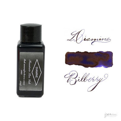 Diamine 30 ml Bottle Fountain Pen Ink, Bilberry