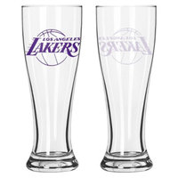Boelter Brands NBA 2 Pack Los Angeles Lakers Pilsner - 16 oz