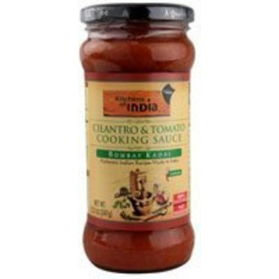 Kitchen Of India Cilantro & Tomato Cooking Sauce 12.2 oz. (Pack of 6)