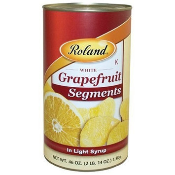 Roland Grapefruit Segments in Light Syrup, 46-Ounce Cans (Pack of 4)