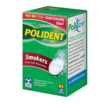 Polident Smokers
