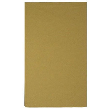 King Zak Ind Lillian Tablesettings 22955 Gold Solid Bistro Napkin 3 Ply - 360 Per Case