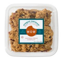 Wow Baking Company WOW Baking- Oregon Oatmeal Cookies, All Natural, Wheat & Gluten Free, 12 oz tub