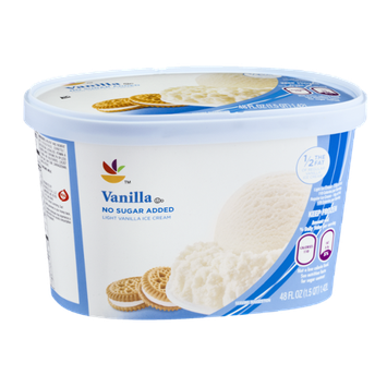 Ahold No Sugar Added Light Vanilla Ice Cream