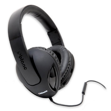 Syba SYBA Multimedia Oblance Cobra Black Stereo Headphone w/In-line Microphone