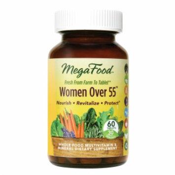 MegaFood Women Over 55 Whole Food Multivitamin, Tablets, 60 ea