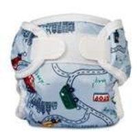 Bummis Super Whisper Wrap Diaper Cover, Big City, Medium (Discontinued by Manufacturer)