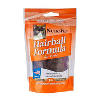 Nutri-Vet Hairball Formula Soft Chew Supplement for Cats