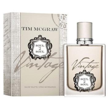 Tim McGraw Men's Soul 2 Soul Vintage by Tim MCGraw Eau De Toilette - 1.0 oz