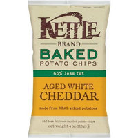 Kettle Baked Potato Chips Aged White Cheddar